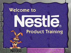 Nestle Product Training Cartoon